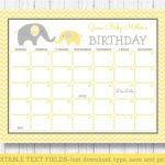 Baby Due Date Guess Calendar