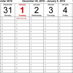 Printable Daily Calendars With Time