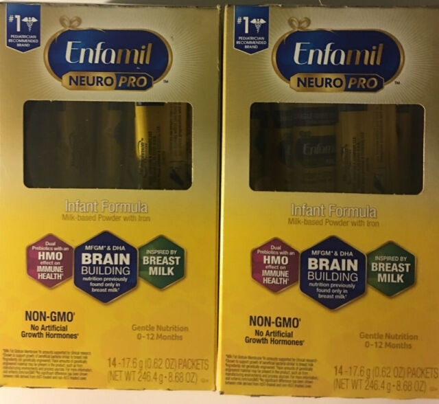 Enfamil Neuropro (28 Packets) (2)Boxes Brain Building