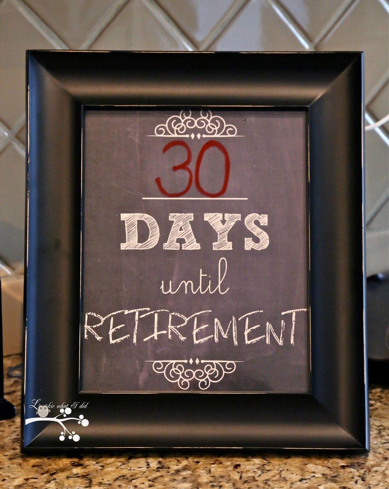 Exceptional Retirement Countdown Calendar For Desktop