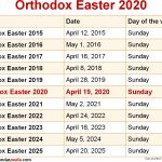 Liturgical Calendar 2021