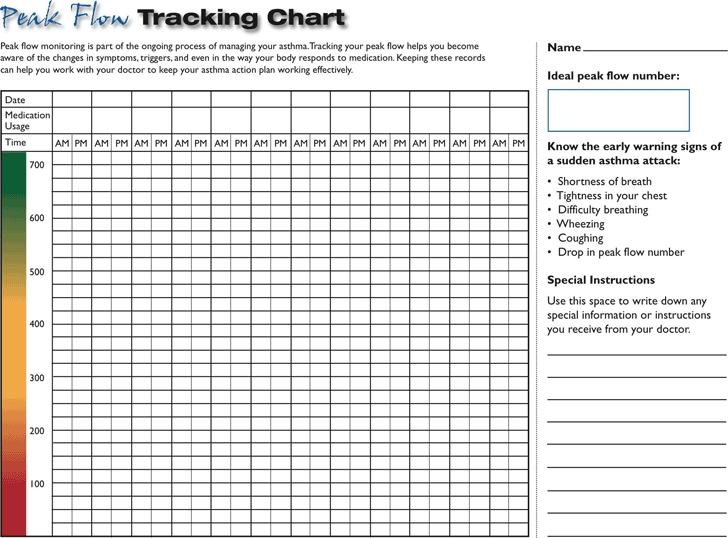 Free Peak Flow Tracking Chart - Pdf | 178Kb | 1 Page(S)