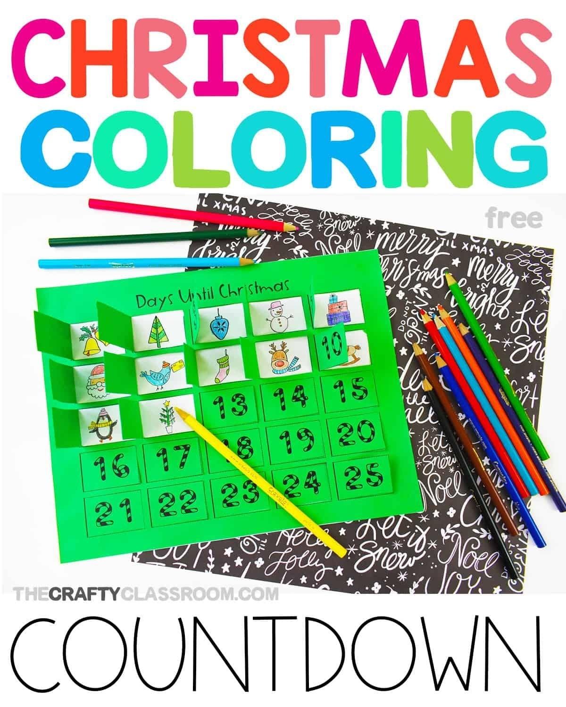 Free Printable Christmas Countdown Calendar | Christmas
