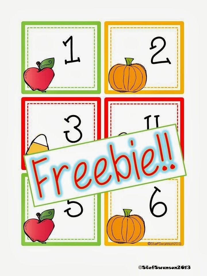Fun Fall Freebie! | School Calendar, Calendar Numbers