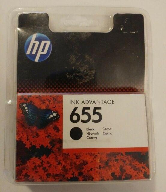 Genuine Hp 655 Black Ink Cartridge Authentic Original