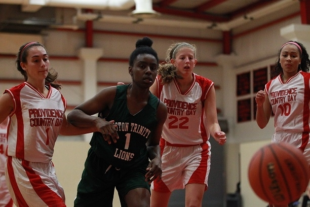 Girls Varsity Basketball Face Brimmer And May In Nepsac