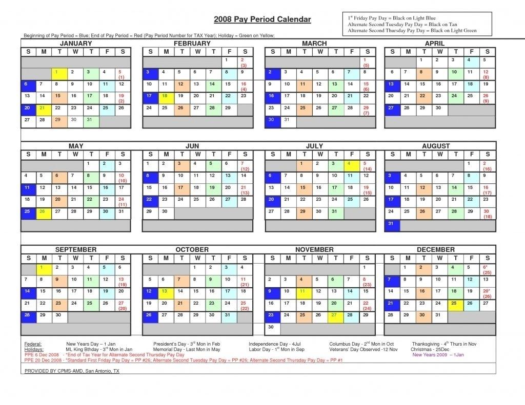 2021 Pay Period Calendar | Printable Calendar Template 2020