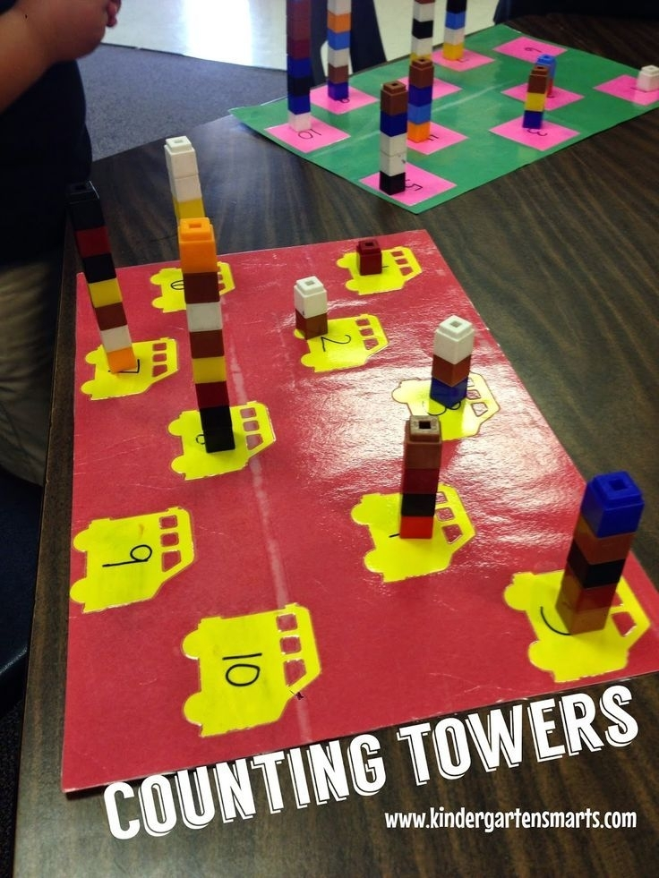 Hands-On Literacy And Math Centers For The Beginning Of