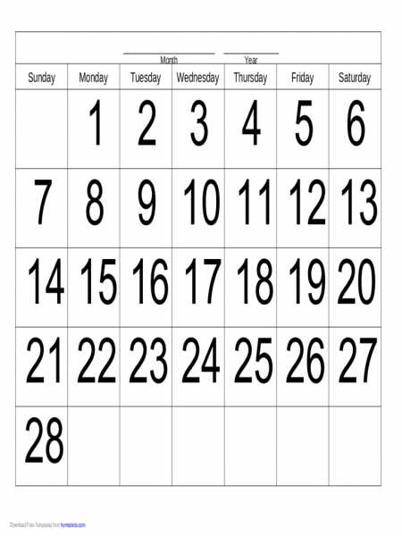 Handwriting Calendar   28 Day   Monday   Edit, Fill, Sign