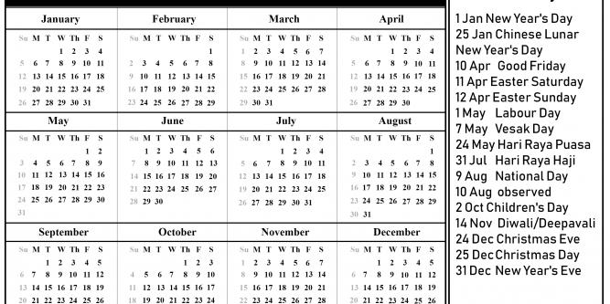 H&M Advent Calendar 2020 | Free Printable Calendar - Part 4