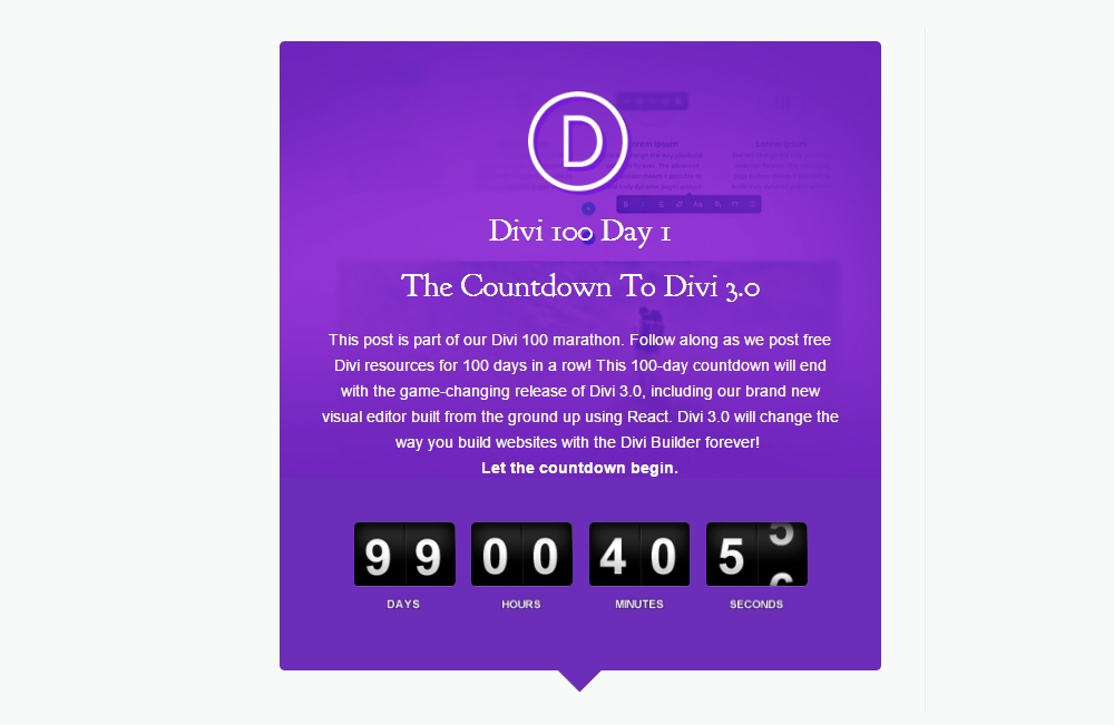 How To Add A Countdown Timer To Your Divi Website