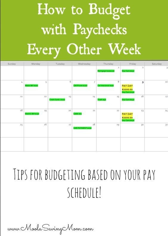 How To Budget If You Are Paid Every 2 Weeks | Budgeting