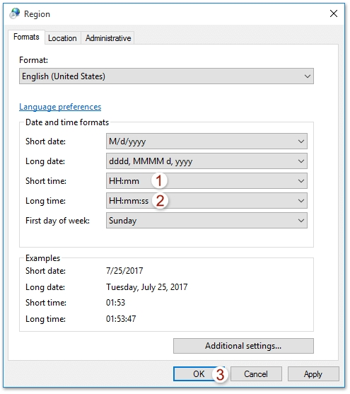How To Change Outlook Calendar To Military Time (24-Hour