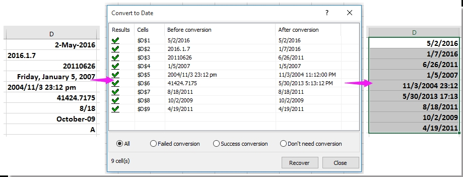 How To Convert Date To Number Or Text In Excel?