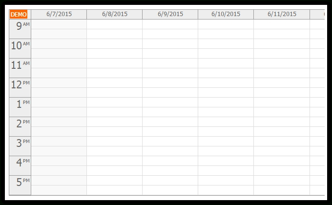 Html5 Calendar With Day/Week/Month Views (Javascript, Php