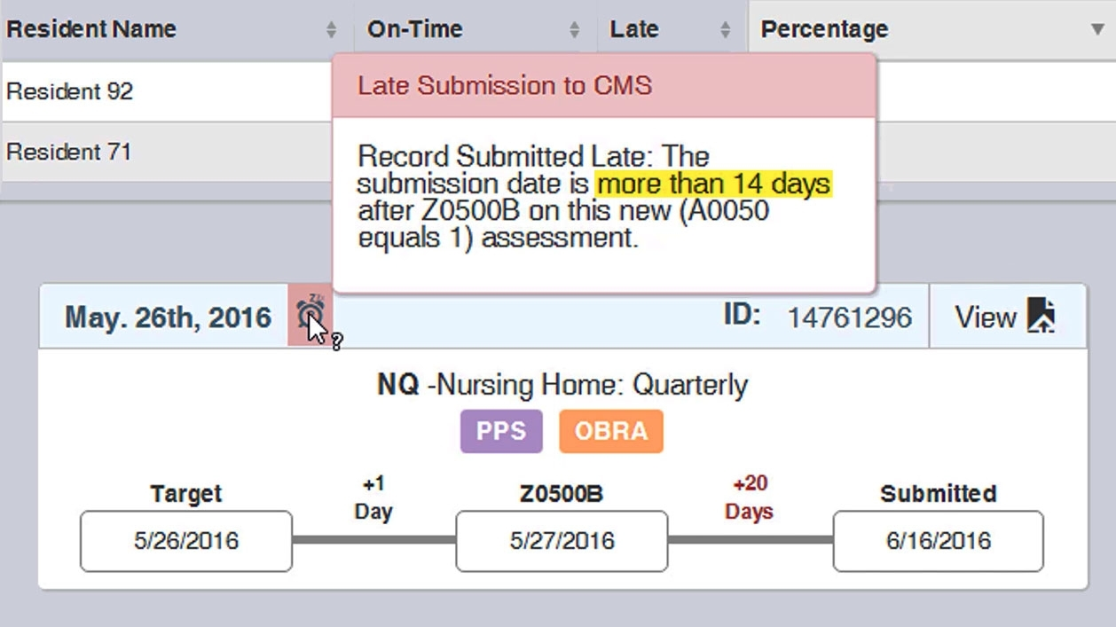 Improve Mds Accuracy And Timeliness With New Late