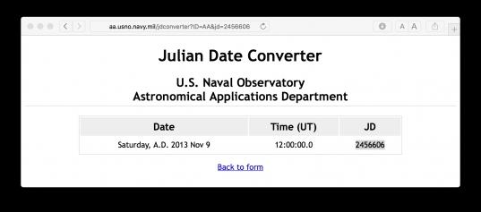 Julian Date To Regular Date Conversion   Stack Overflow