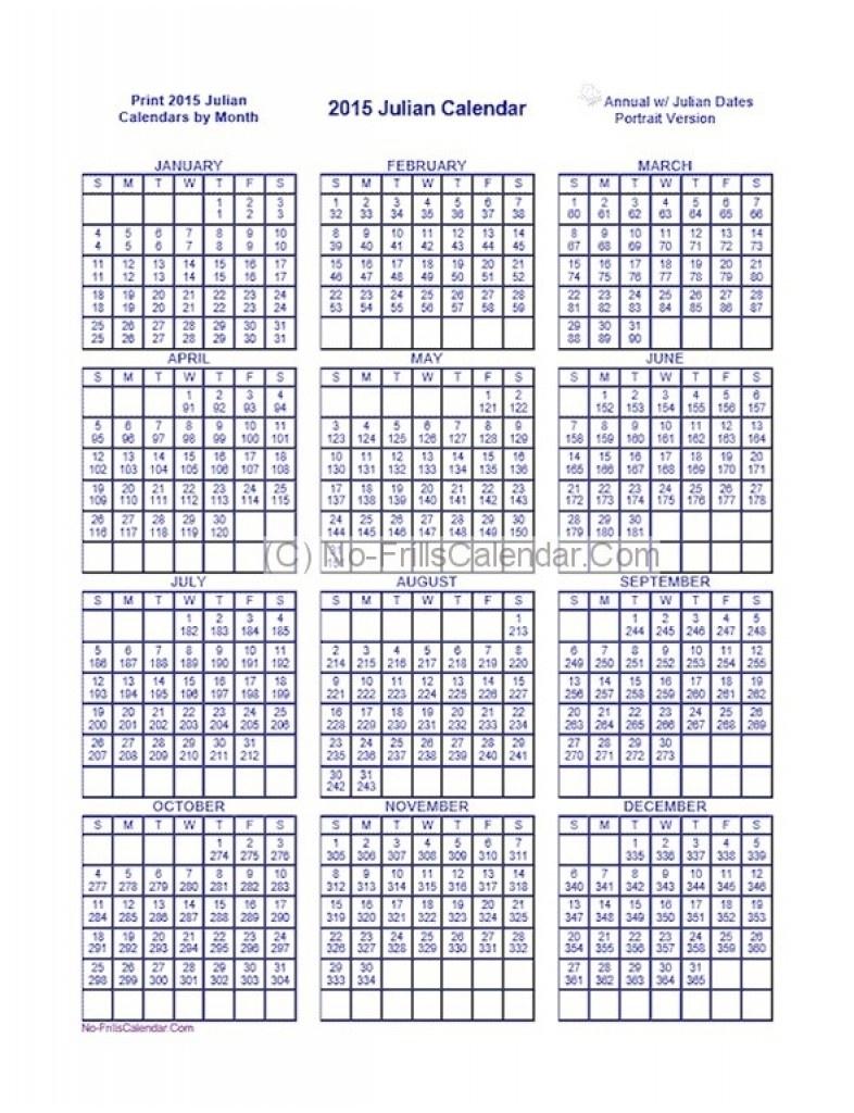 Julius Date Calendar For 2018 – Template Calendar Design