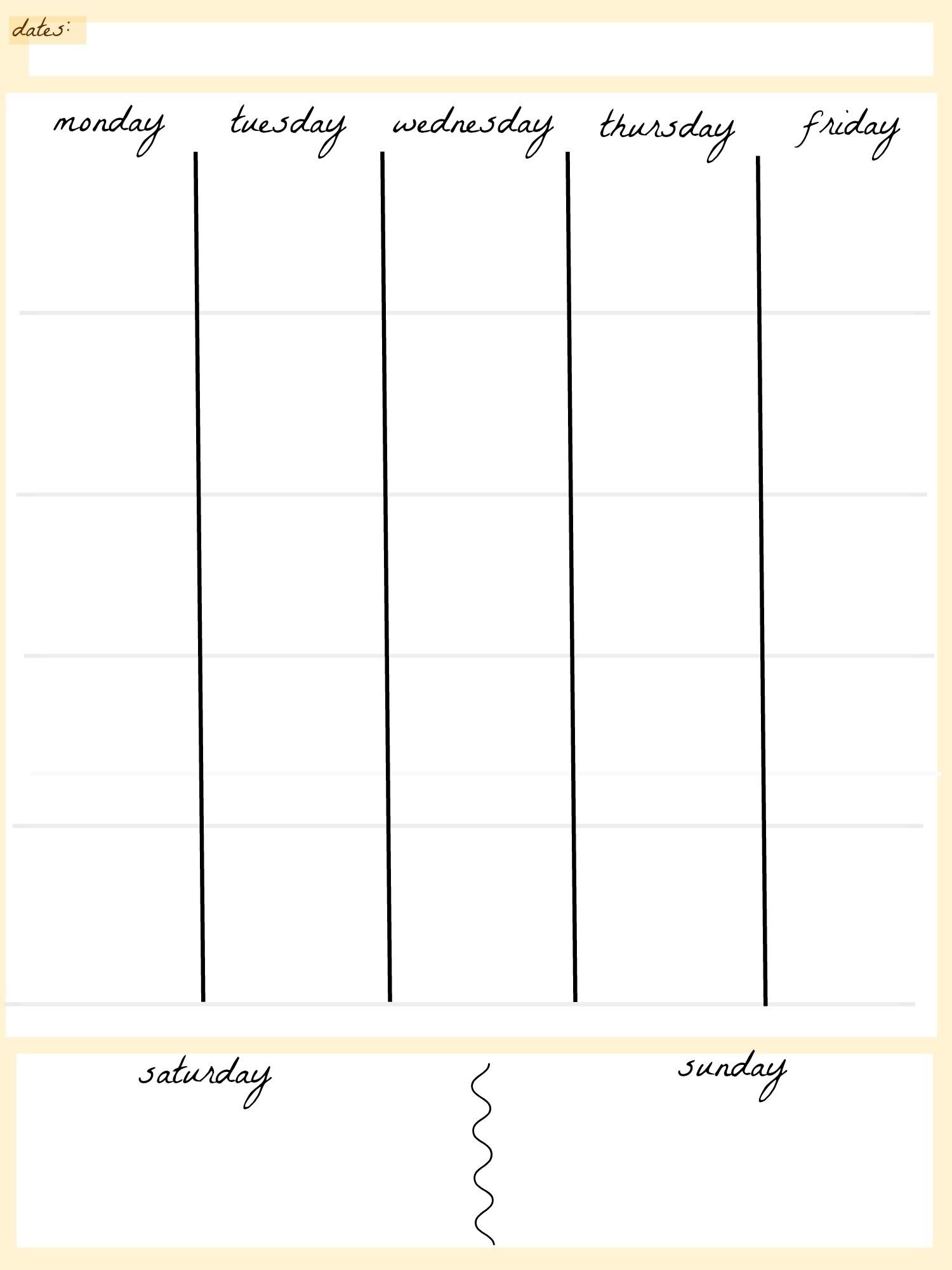 June 2018 – Page 4 – Template Calendar Design