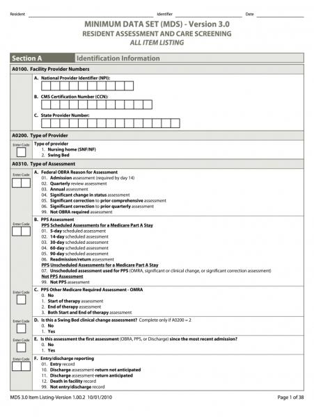 Mds 3.0 Print Forms | Printable Calendar Template 2020