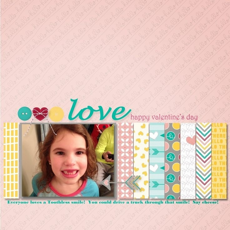 Mds Calendar: February | Scrapbook Pages, Scrapbooking