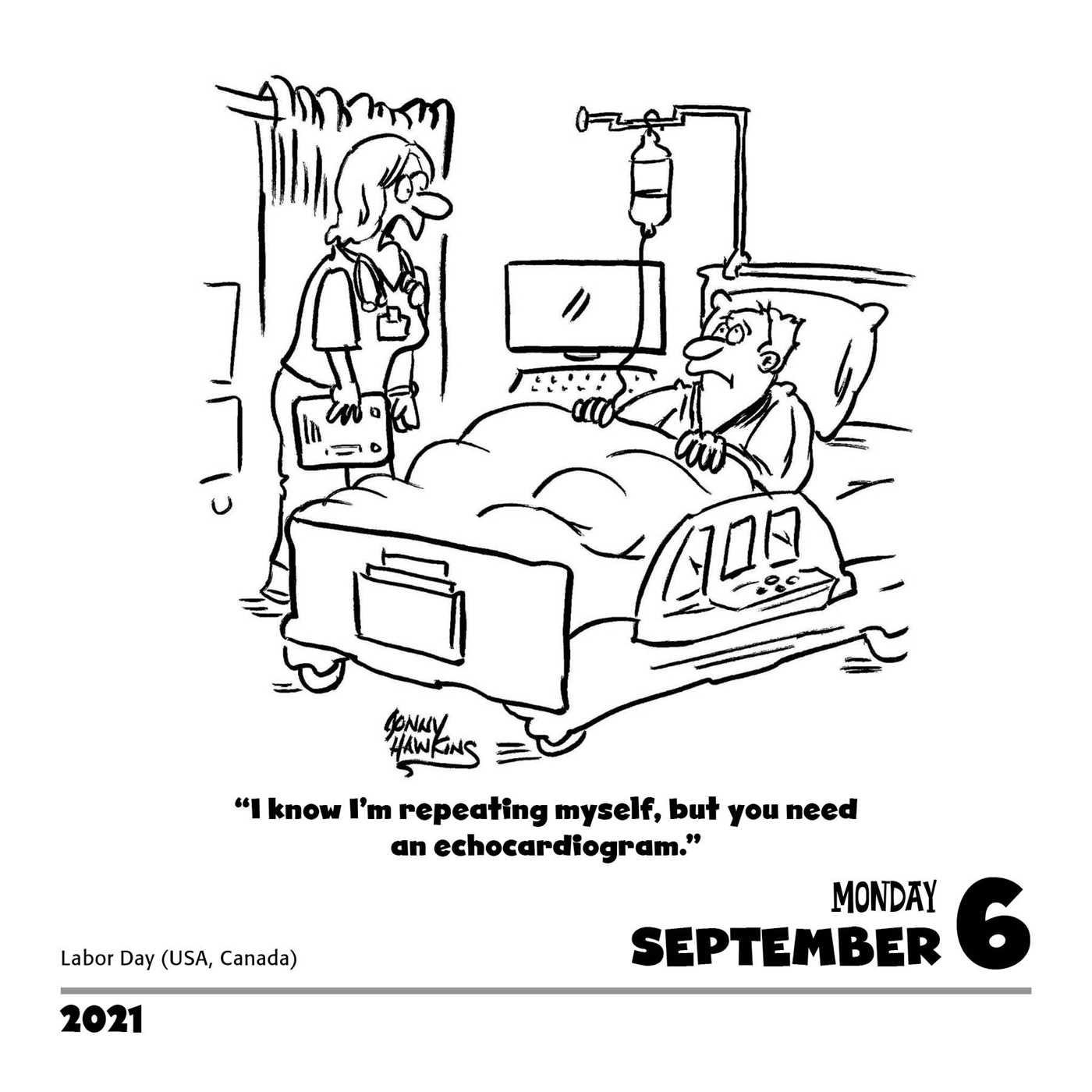 Medical Cartoon-A-Day 2021 Calendar - Book Summary & Video