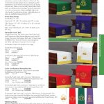Methodist Pulpit Paraments Color Chart