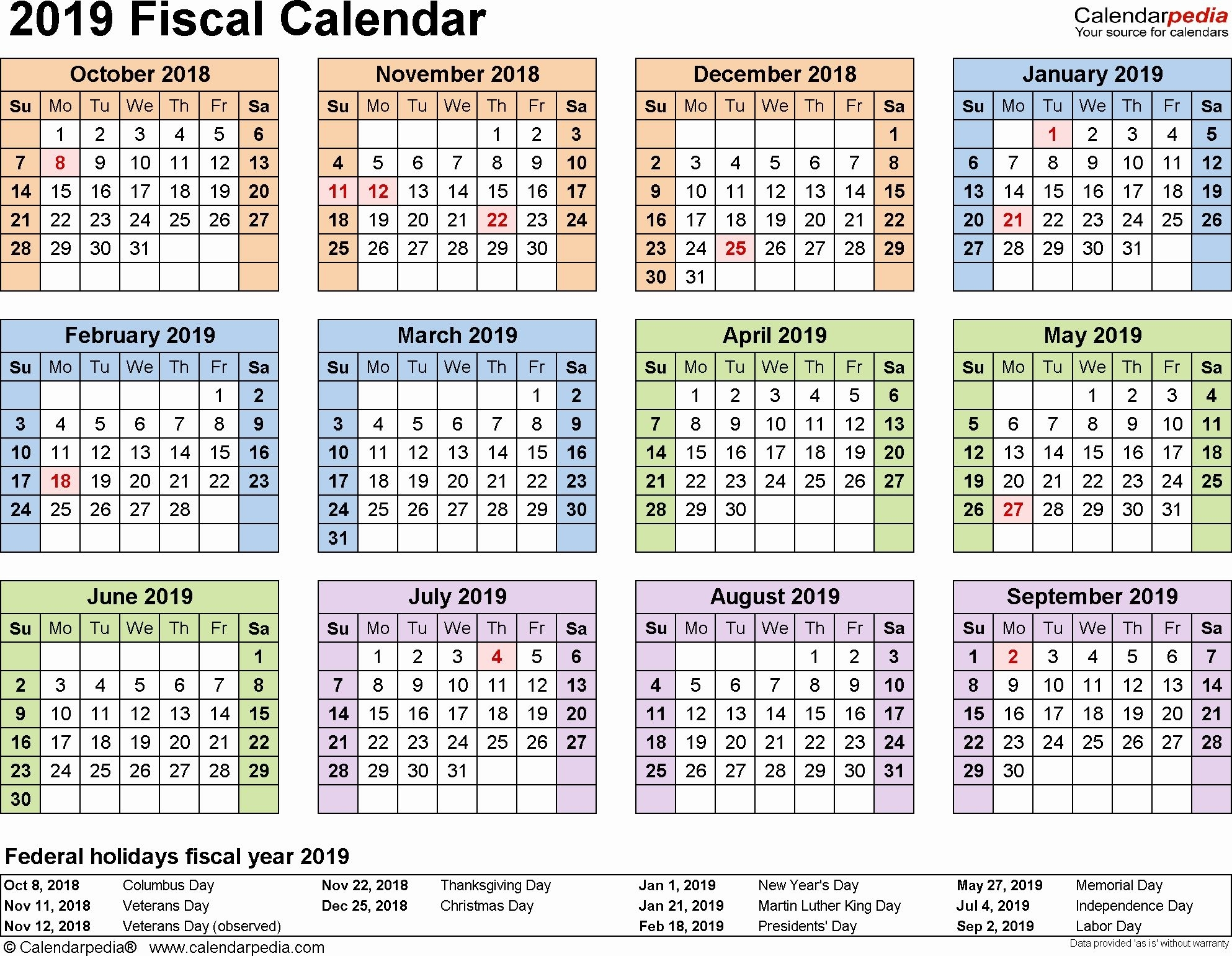 Monthly On Call Schedule Template Elegant Fiscal Calendars
