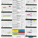 2021 Attendance Calendar Pdf