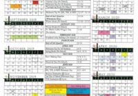 Morgan Hill Unified School Calendar   Printable Calendar