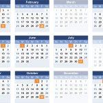 Federal Pay Calendar 2021