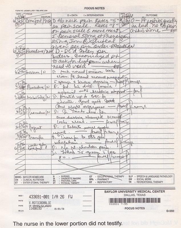 Nurse Notes Form - Audreybraun