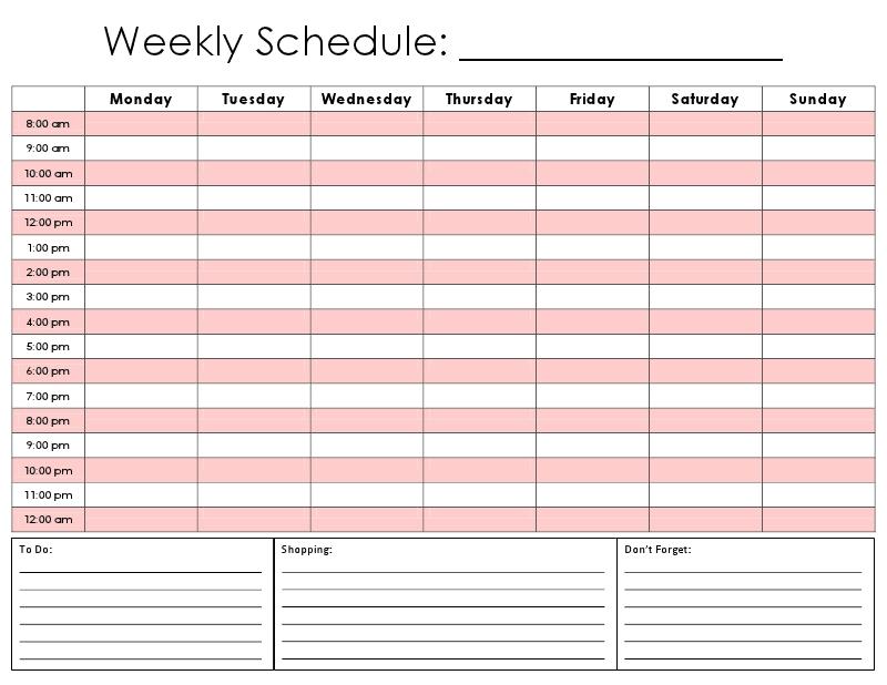 One Tiny Moment: Hourly Calendar