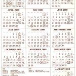 2021 Payroll Calendar Wall