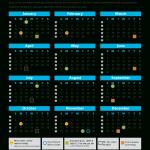 2021 Federal Paid Calendar
