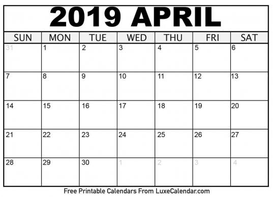 Perfect 8x11 Printable Monthly Calendar In 2020 | Calendar