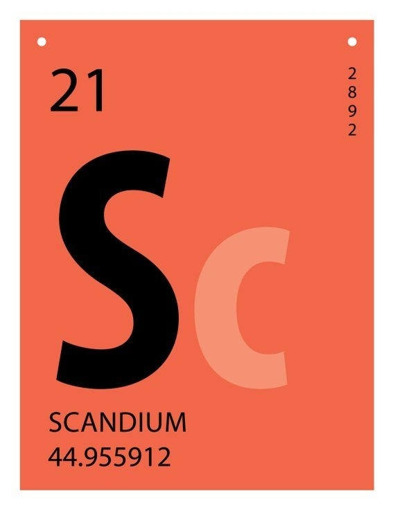 Periodic Table Banner • Science Lab Banner • 8.5 X 11