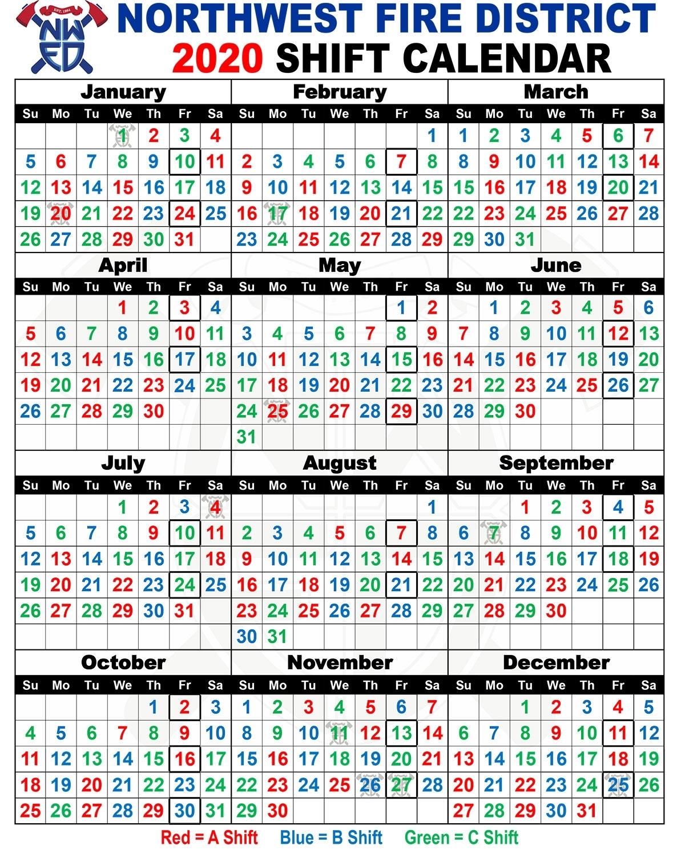 Pick Printable 2020 Shift Calendar | Calendar Printables