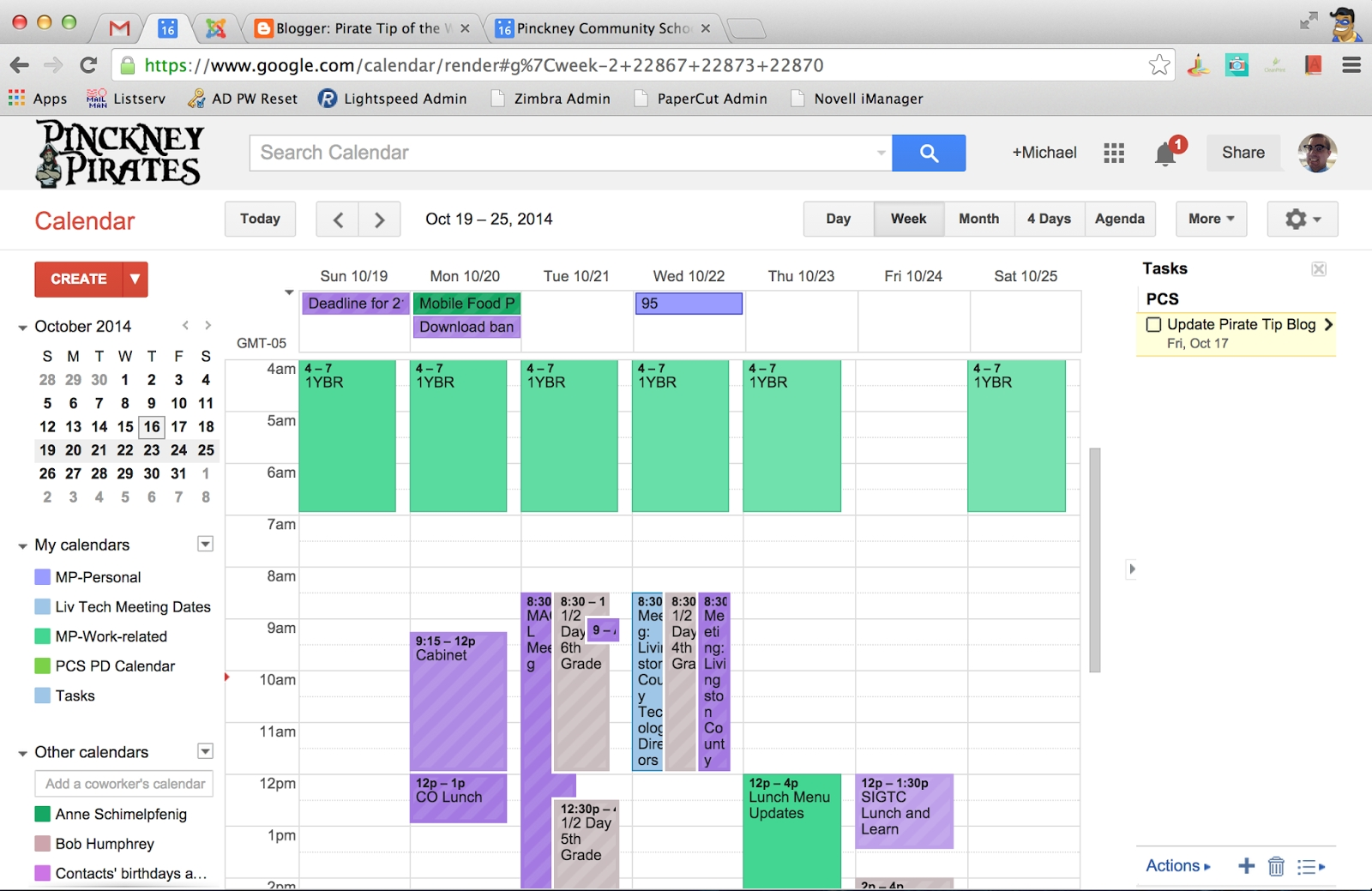 Pirate Tips: Google Calendar Appointment Slots