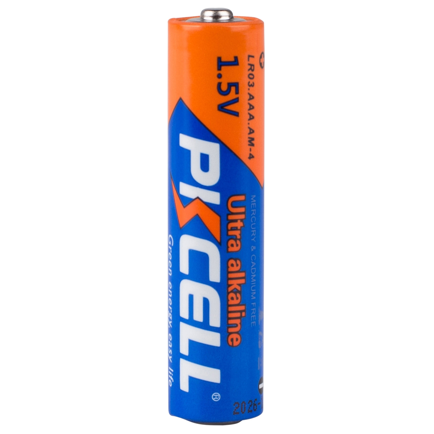 Pkcell Aaa Ultra Alkaline Battery 60-Pack