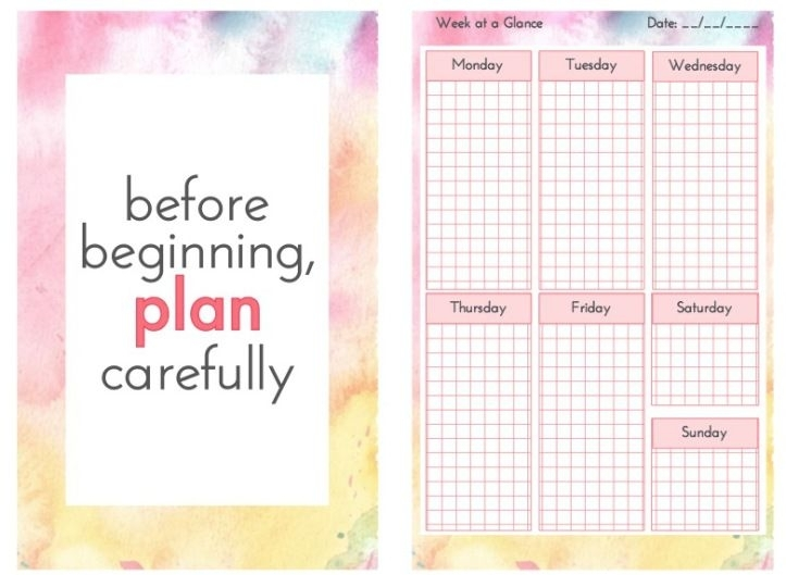Planner Bits | Printable Calendars | Free Planner Pages