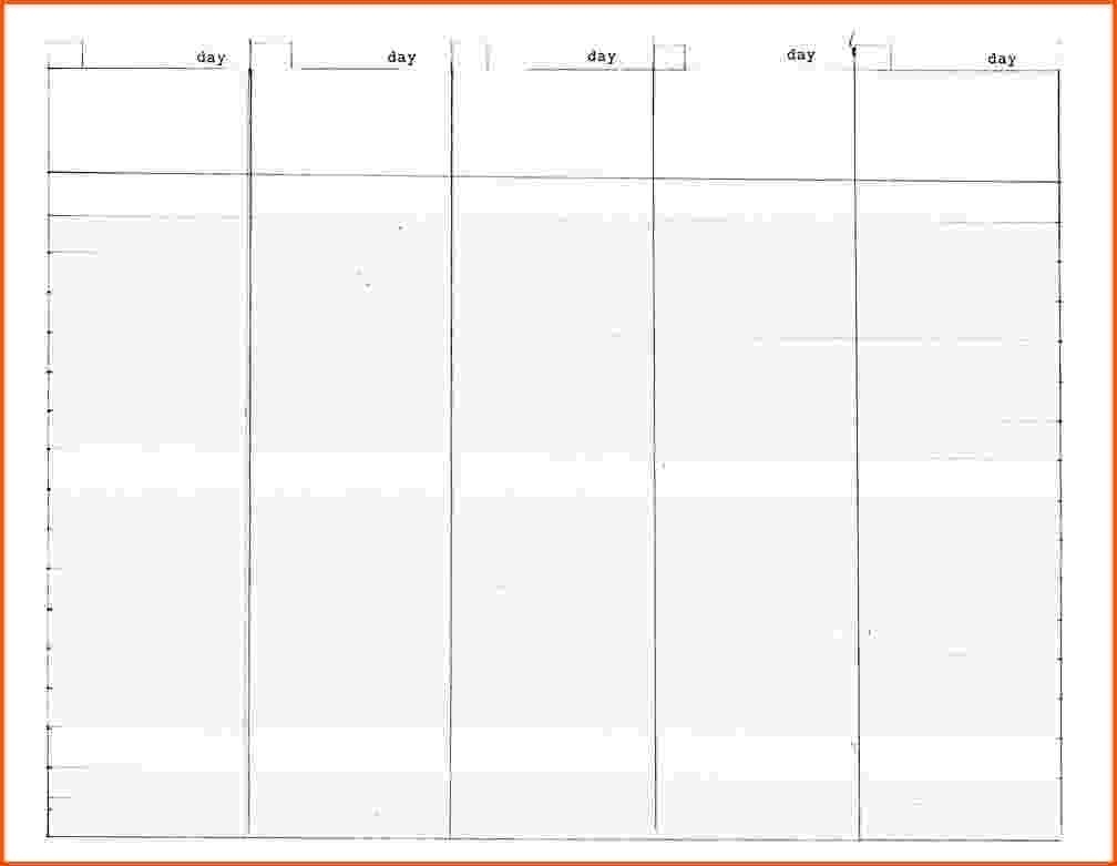 Print 5 Week Calendar | Month Calendar Printable