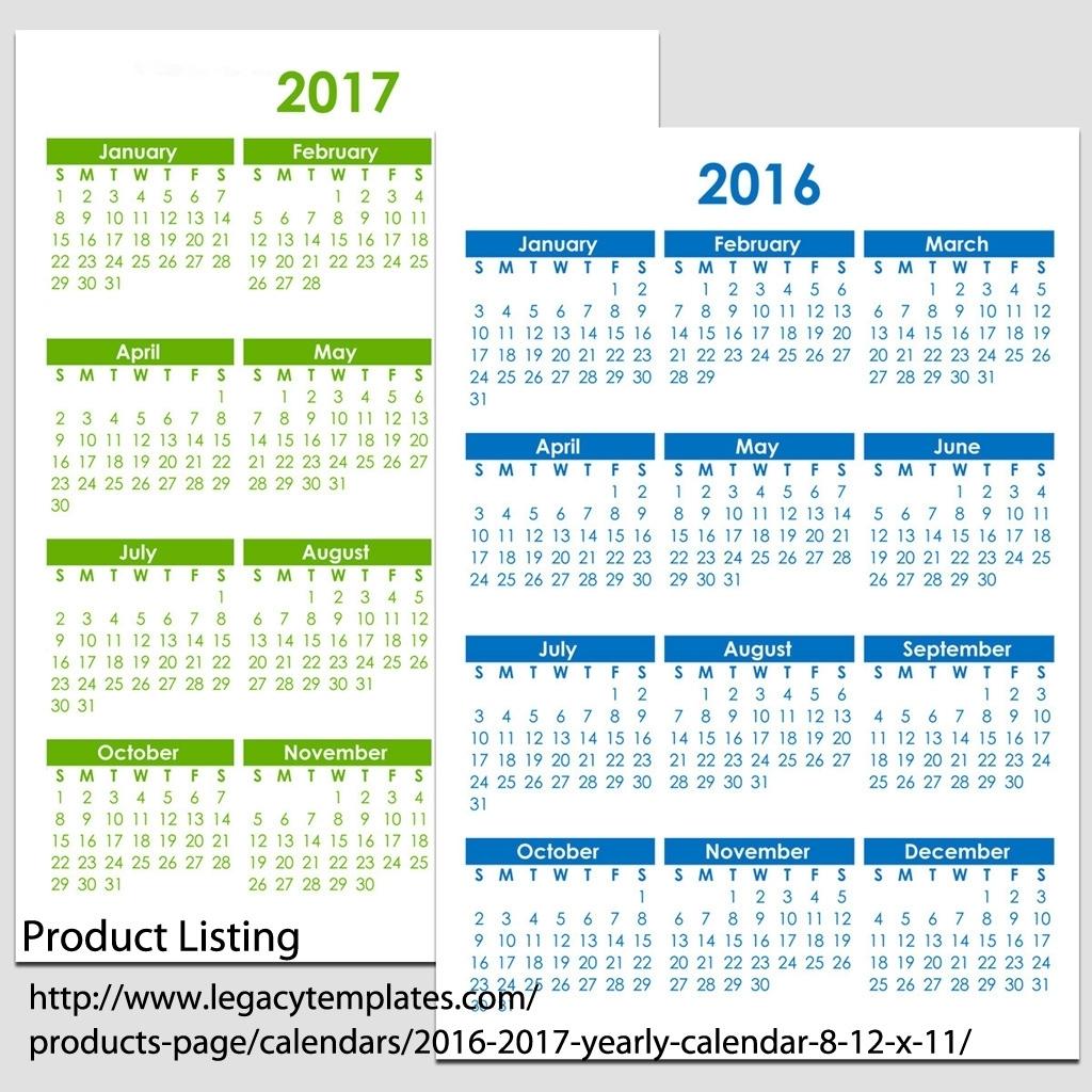Printable 8 1/2 X 11 Printable Calendar :-Free Calendar