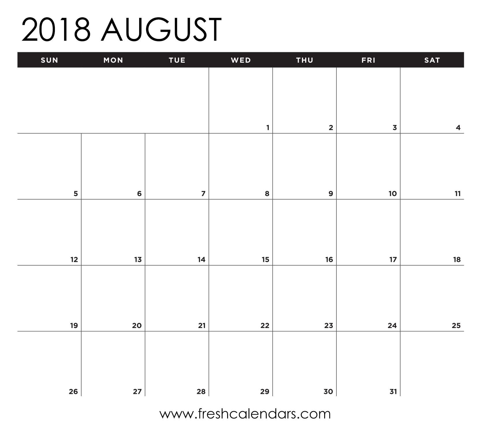 Printable 8X10 Blank Calendar | Printable Calendar 2020
