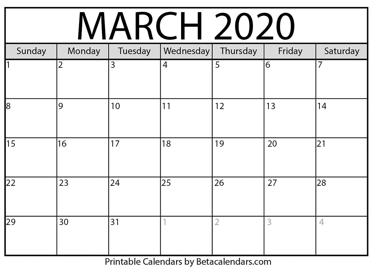 Printable Calendar 2020 That Also Has Julian Date