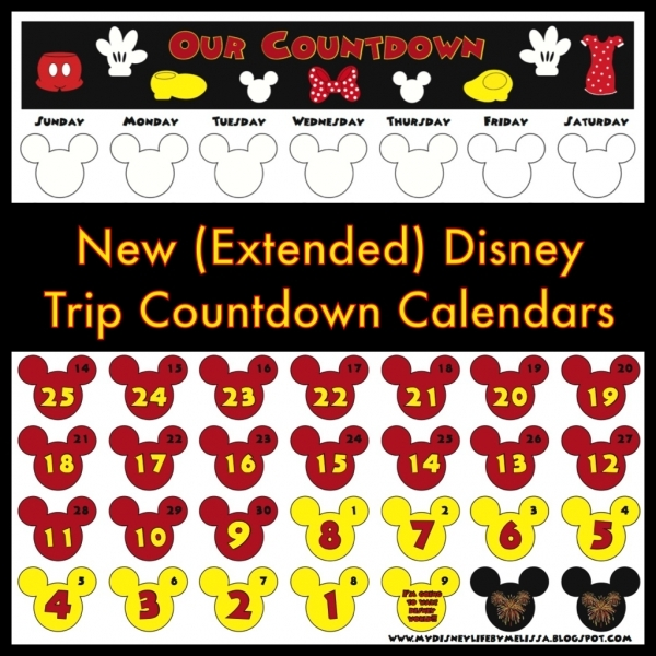Printable Disney Calendars By Month | Printable Calendar