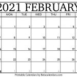 Leap Year Julian Calendar 2021