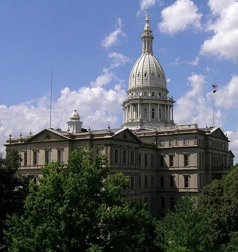 Protests In Lansing | Michigan Radio