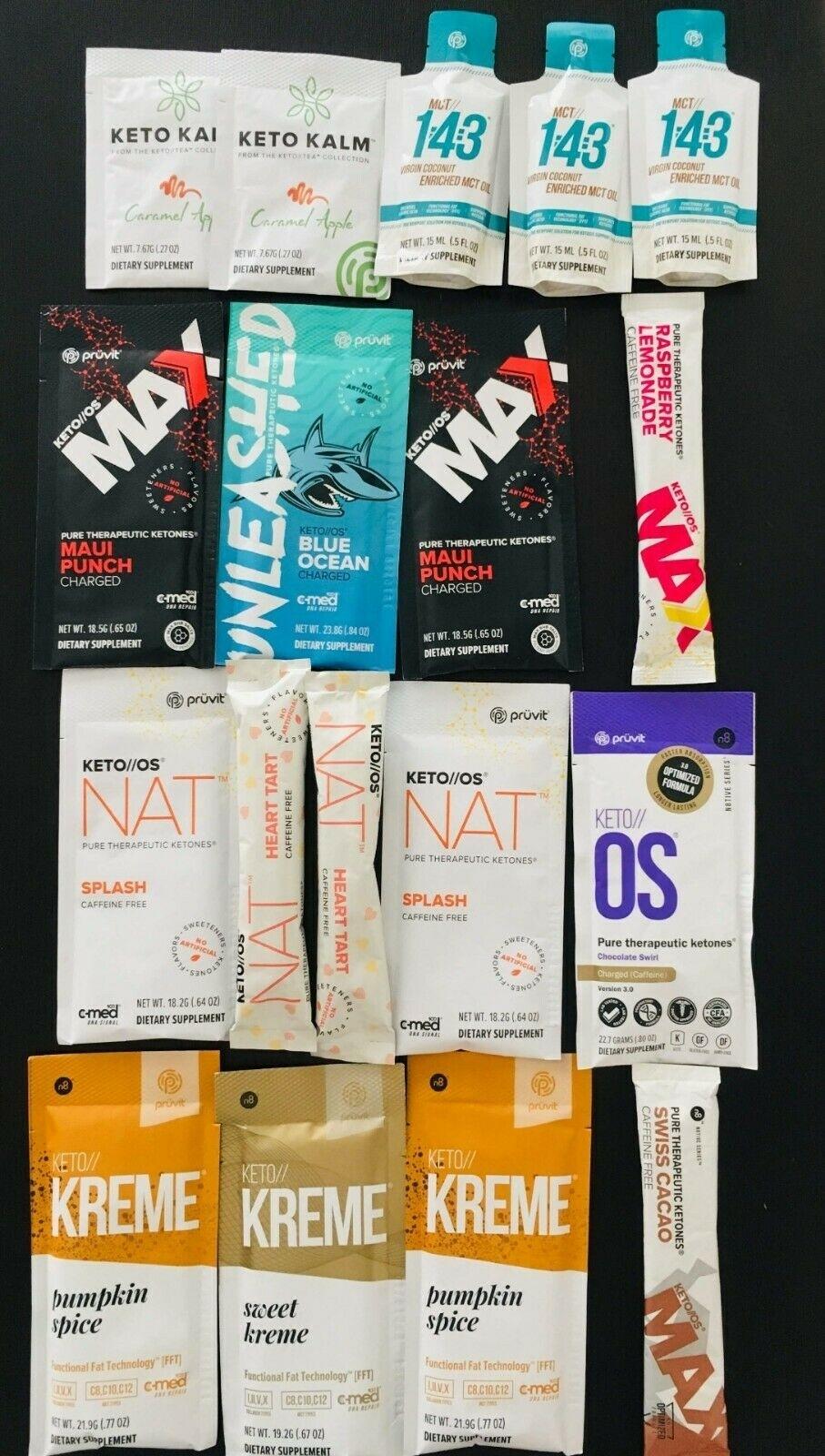 Pruvit Keto Os Max Nat Ketones Packet 5,10 Day Various