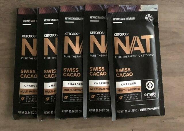 Pruvit Ketones Swiss Cocoa Charged (5 Packets) | Ebay